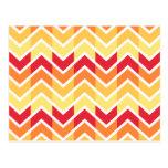 Color de los diseños geométricos de Chevron del am Postal