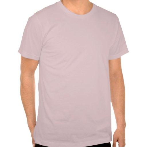 Color de malva básica de la camiseta de American A