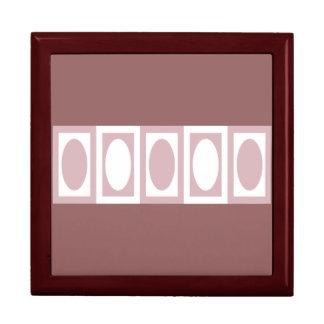 Color de malva de Minnie Caja De Regalo