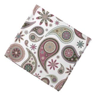 Color de malva de Paisley - pañuelo Bandana