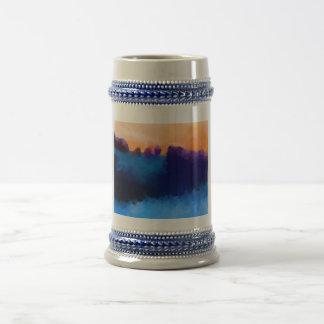 Color de malva del hielo y taza de Marmelaide