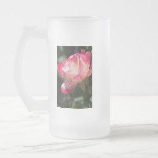 """Color de rosa abigarrado """"esta taza es el mío """""""