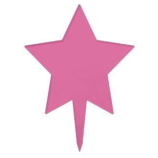 Color de rosa palillos de tarta