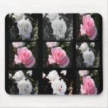 color de rosa alfombrilla de ratones