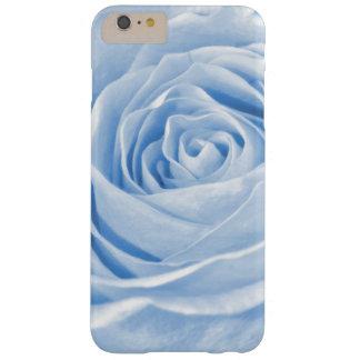 Color de rosa azul claro delicado de la foto funda barely there iPhone 6 plus