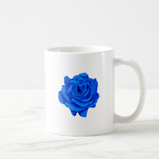 Color de rosa azul taza