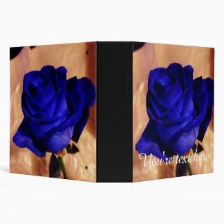 Color de rosa azul único y elegante de encargo