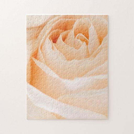 Color de rosa beige puzzles con fotos