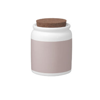 Color de rosa brumoso jarra para caramelo