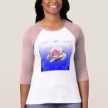 Color de rosa camisetas