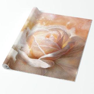 Color de rosa - colores del papel de regalo del