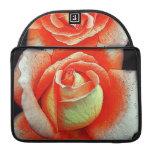 Color de rosa coralino fundas macbook pro