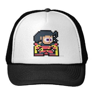 color de rosa de 8 bits gorra