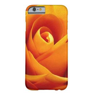 Color de rosa de oro funda de iPhone 6 barely there