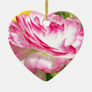 Color de rosa ornamento de reyes magos