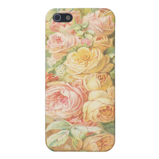 Color de rosa dulce iPhone 5 fundas