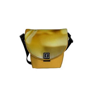 Color de rosa enorme del limón - pequeño bolso bolsas de mensajeria