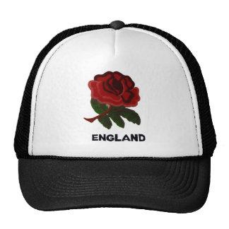 Color de rosa inglés gorros