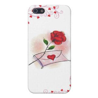 color de rosa iPhone 5 carcasas