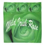 Color de rosa irlandés salvaje bandanas