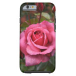 ¡Color de rosa magenta para usted! Funda De iPhone 6 Tough