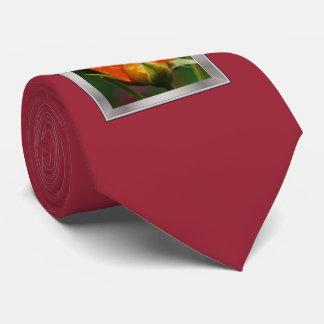 color de rosa mojado corbatas personalizadas