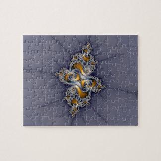 Color de rosa oscuro - fractal de Mandelbrot Puzzle