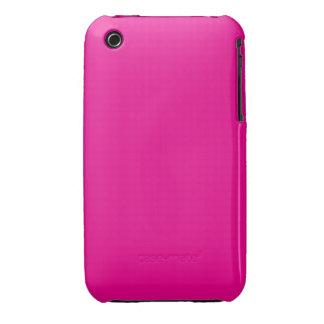 ~ COLOR DE ROSA PERSA (del color atractivo sólido) iPhone 3 Case-Mate Carcasa