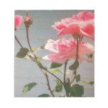 Color de rosa preferido blocs de papel