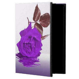 Color de rosa púrpura de fibro