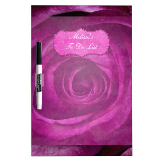 Color de rosa púrpura dramático elegante hermoso c pizarras blancas de calidad
