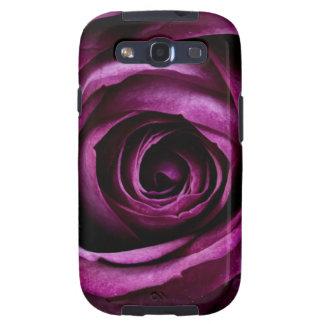 Color de rosa púrpura galaxy s3 cobertura