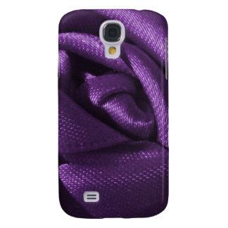 Color de rosa púrpura gótico samsung galaxy s4 cover