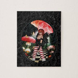 Color de rosa puzzle