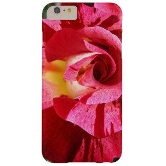 Color de rosa rojo y rosado funda para iPhone 6 plus barely there