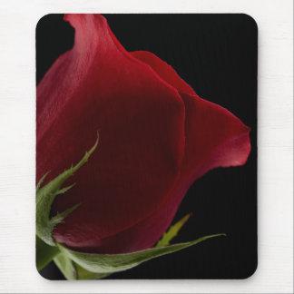 Color de rosa romántico alfombrillas de ratones