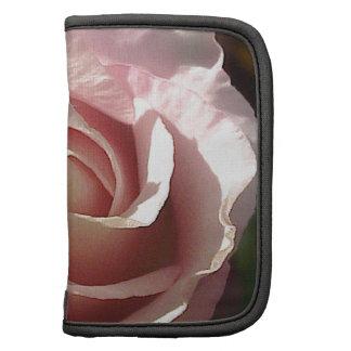 Color de rosa rosado bonito organizadores