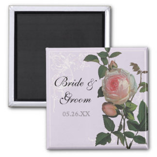 Color de rosa rosado botánico casando reserva el