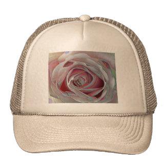 color de rosa rosado de los arty gorro