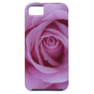 Color de rosa rosado iPhone 5 carcasa