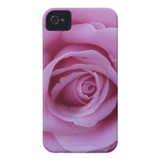 Color de rosa rosado iPhone 4 Case-Mate coberturas