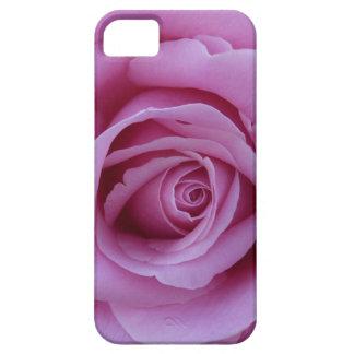 Color de rosa rosado funda para iPhone 5 barely there