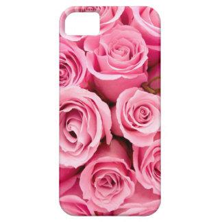 Color de rosa rosado iPhone 5 Case-Mate coberturas