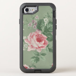 Color de rosa rosado funda OtterBox defender para iPhone 7