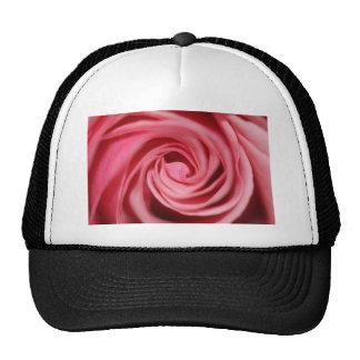 Color de rosa rosado gorro de camionero
