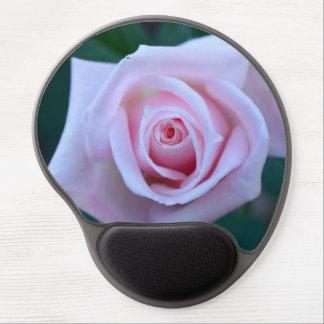 Color de rosa rosado hermoso alfombrilla con gel