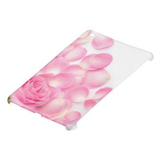 Color de rosa rosado hermoso con los pétalos dispe