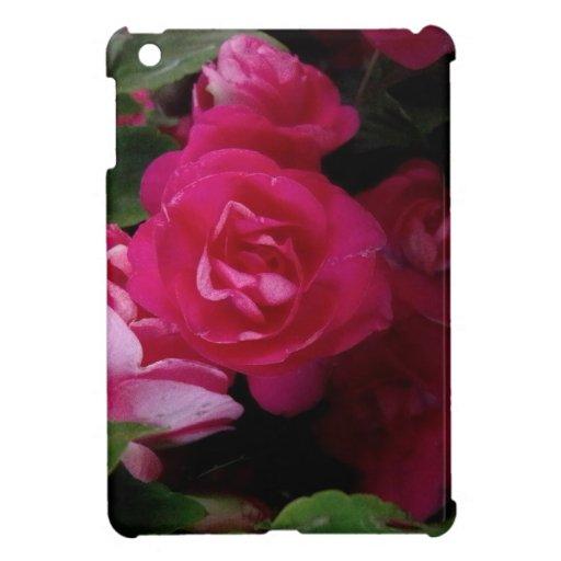 Color de rosa rosado iPad mini carcasa