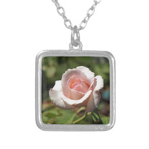 Color de rosa rosado joyeria personalizada