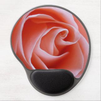 Color de rosa rosado maravilloso alfombrilla gel
